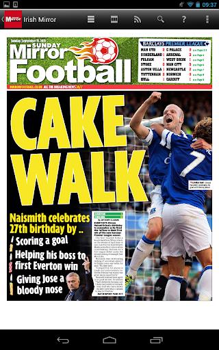 Irish Mirror Newspaper (IE) - screenshot