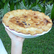 Crusty Blueberry Pie