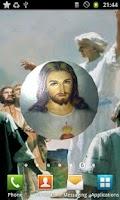Screenshot of Jesus Christ 3D Live Wallpaper