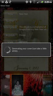New Year's Instebook - screenshot