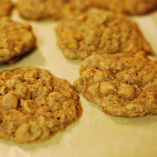 Healthy Peanut Butter, Oatmeal Cookies