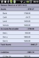 Screenshot of AZZURRA Financial Accounting F