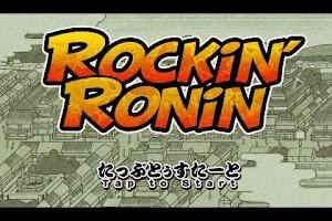 Screenshot of Rockin' Ronin