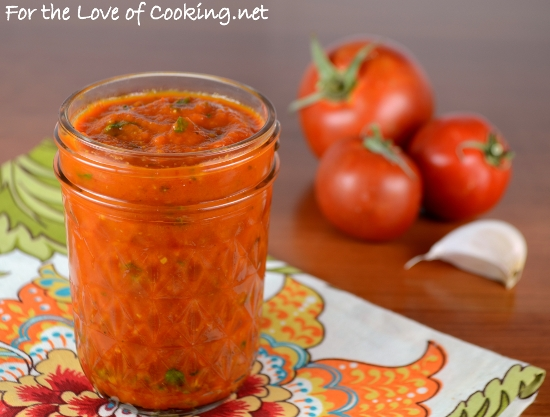Roasted Tomato and Fresh Basil Pizza Sauce Recipe | Yummly