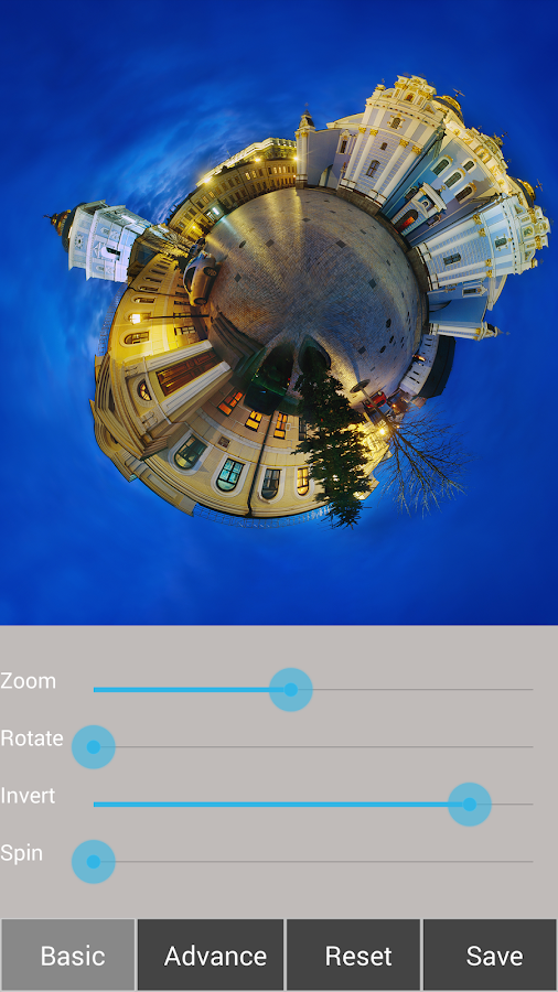 Tiny Planet FX Pro Screenshot 10