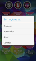 Screenshot of Galaxy S5 Ringtones