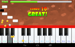 Screenshot of Piano Master National Anthems