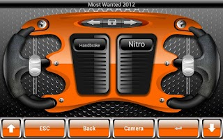 Screenshot of Steering wheel for PC (demo)