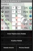 Screenshot of Super Bolão Brasileirão (BETA)