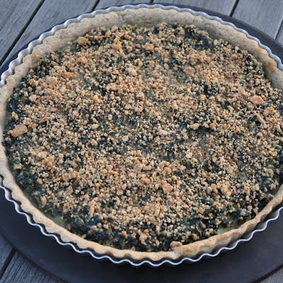 Sweet Spinach Tart