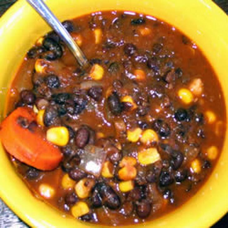 Vegan Black Bean Soup