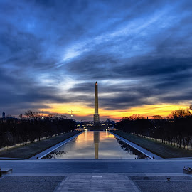 Washington Monument by Daniel Potter - Buildings & Architecture Statues & Monuments