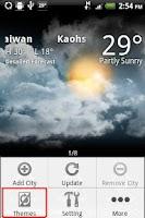 Screenshot of 9s-Weather Theme+ ZodiacRabbit
