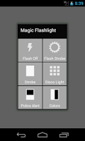 Screenshot of Magic Flashlight
