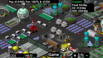 Screenshot of Moonbase Inc (Alpha Testing)