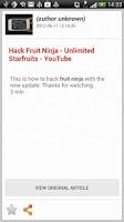 Screenshot of Fruit Ninja Alert