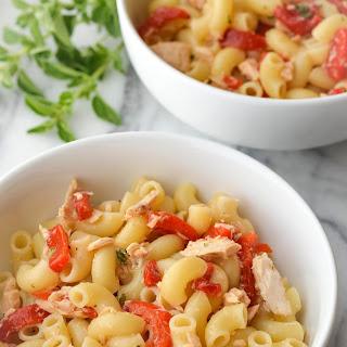 Tuna Pasta Salad With Vinaigrette Recipes