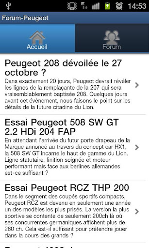 【免費新聞App】Forum-Peugeot-APP點子
