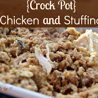 {Crock Pot} Chicken and Stuffing