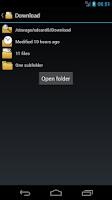 Screenshot of Felix (File Explorer)
