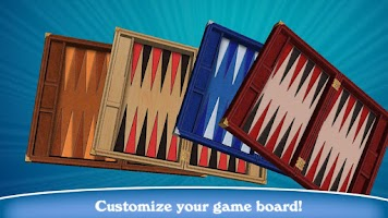 Screenshot of Hardwood Backgammon