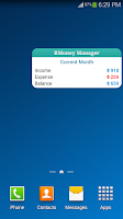 Screenshot of Money Manager - Budget Book