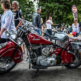 Indian by Barry Stead - Transportation Motorcycles
