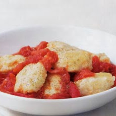 Ricotta Gnocchi with Roasted Tomato