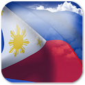 3D Philippines Flag + icon