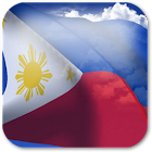 3D Philippines Flag icon
