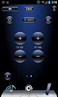 Screenshot of TEAC AVR Remote