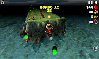 Screenshot of Treasure Run 3D
