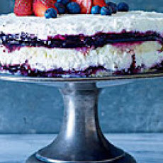 Berries and Cream Cheesecake