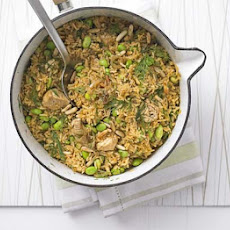 Chicken Pilaf With Dill & Pine Nuts