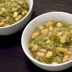 South Beach Diet Tomatillo White Chili