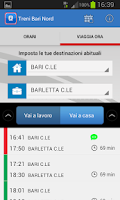 Screenshot of Treni Bari Nord