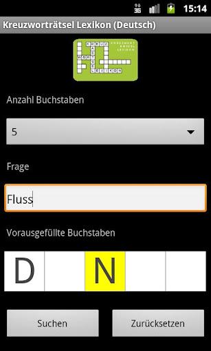 Crossword Dictionary Demo