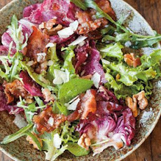 Field Salad with Pancetta and Walnuts