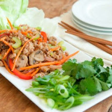 Pork Stir-Fry Lettuce Wraps