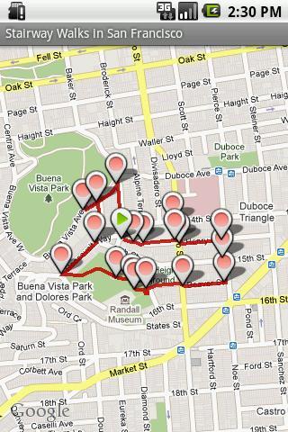 【免費旅遊App】StairwayWalks in San Francisco-APP點子