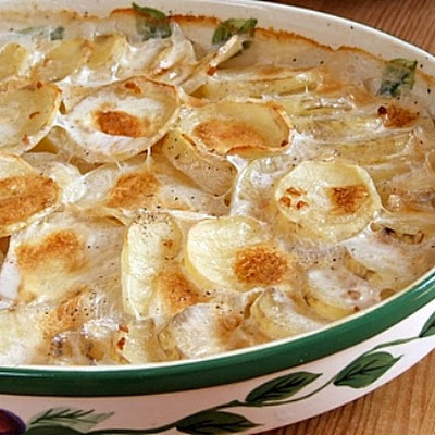Scalloped Garlic Potatoes