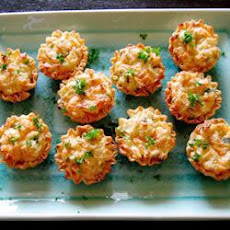 Cheesy Crab Tartlets