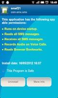 Screenshot of Anti Spy Mobile PRO