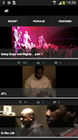Screenshot of Boyz II Men App
