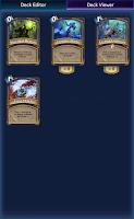 Screenshot of DeckBuilder: Hearthstone
