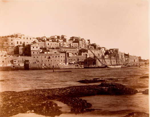 The view of Jaffa from the sea