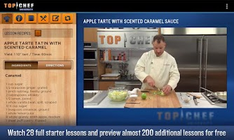 Screenshot of Top Chef University