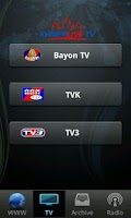 Screenshot of Khmer Live TV and Radio