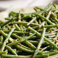 Green Bean Harissa Salad