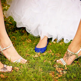 Bride & Bridesmaids Shoes by Darya Morreale - Wedding Groups ( bridesmaids, wedding, feet, bride, shows,  )